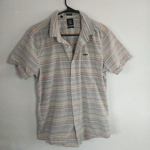 Volcom Slim Fit Medium Casual Button Down